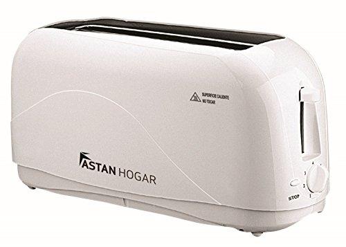 Toaster Basic Curve. Leistung 1300W. doppelseitigem Standard für vier Scheiben. Automatische Ausweisung. Sieben Bräunungsstufen. (Basic-toaster)