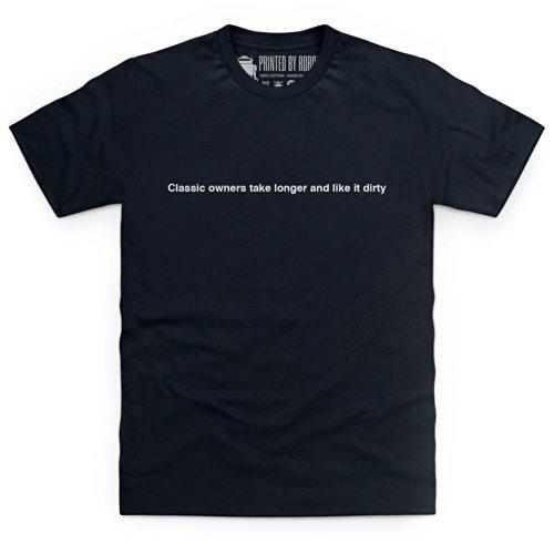 Longer and Dirty T-Shirt, Herren Schwarz