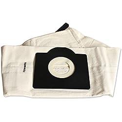 Reyee universel Sacs d'aspirateur lavable Sac à poussière pour Rowenta Zr814Karcher Hr6675