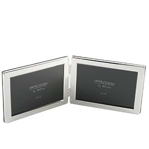"Deluxe 4x6"" double frame- Landscape Tarnish Resistant"