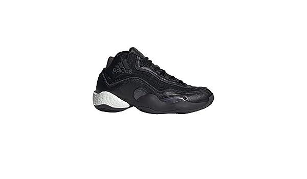 adidas Herren 98 X Crazy BYW Basketballschuhe Schwarz