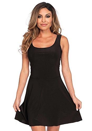 shoperama Basic Kleid Kurz für Damen-Kostüme von Leg -