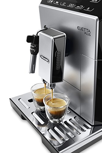 DeLonghi ECAM44.620.S ECAM 44.620.S Bean to Cup, Stainless Steel, 1450 W, 2 liters, Black, Silver