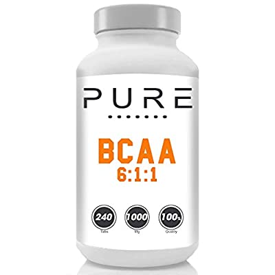 Bodybuilding Warehouse Pure Branch Chain Amino Acid BCAA 6:1:1 Tablets from Bodybuilding Warehouse