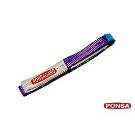 1T Cinghia di sollevamento in poliestere 1000 kg, con trattamento PONSAGARD antiabrasione e antitaglio.
