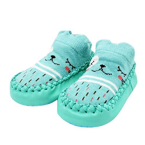 HhGold Kleinkind Anti-Slip Socken Schuhe Stiefel Slipper Socken, Neugeborenes Baby Cartoon Neugeborenes Baby Mädchen Jungen Anti-Slip Socken Slipper Schuhe Stiefel Freiraum