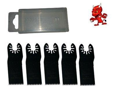 5 Stück 32 mm Japan Sägeblatt Sägeblätter Zubehör Aufsätze für Craftsman Nextec Multi Tool 5910/12V mit Box