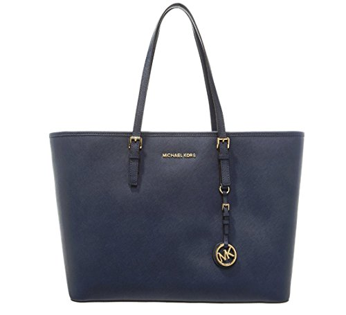 Price comparison product image Michael Kors, Women, Shopper, jet set medium tote, blue (azul marino), one size