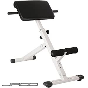 Physionics Back Extension Bench (45 Degree) Abs Abdominal Exercise Equipment Gym Fitness