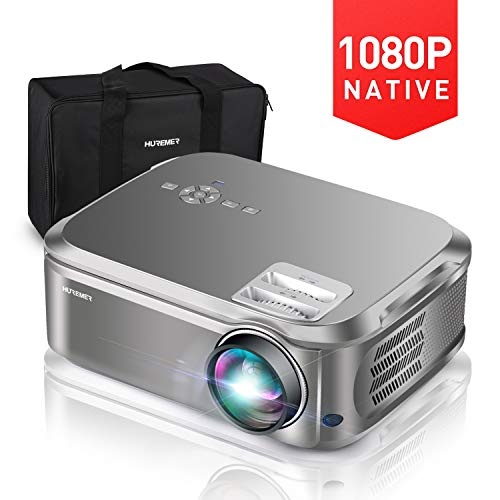 5500 Lumens up to 300 Image Display Ideal for PPT Business Presentations Home Theater Entertainment Parties Games ELEPHAS Projector Q9 Native 1080P HD Video Projector