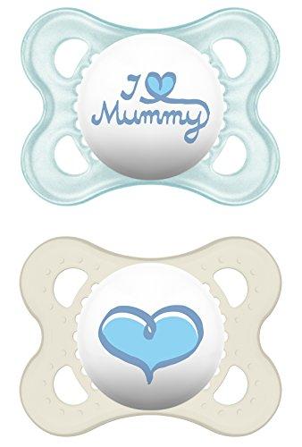 MAM Babyartikel, MAM 66734311 Original, Succhietto in silicone 0-6 Mesi, I love mummy per Bimbon