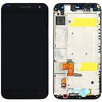 Piezas de repuesto para teléfonos móviles, IPartsBuy Huawei Ascend G7 Pantalla LCD + pantalla táctil Digitizador Asamblea con marco ( Color : Negro )