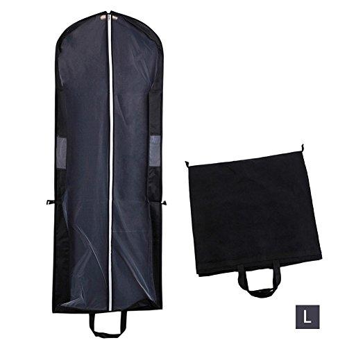 PROKTH faltbar mit-Tasche mit Reißverschluss, Kleidung, Kleid-Kleidung mit Abdeckung für die Braut...