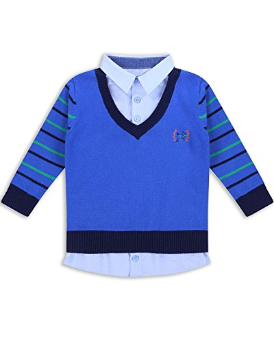 The Essential One - Baby Kinder Jungen Jumper / Pullover - 18-24 M - Blau - EOT254