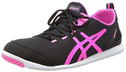 Asics Damen metrolyte Walking Schuh Black/Flash Pink/White