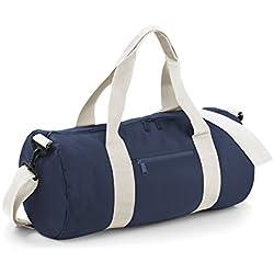 Bagbase Seesack / Reisetasche, 20 Liter One Size,Französisch Marineblau/ Gebrochen Weiß