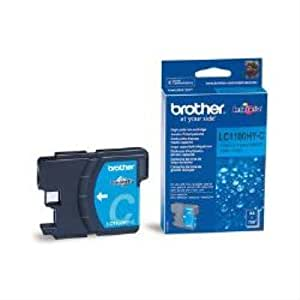 Brother LC-1100HYC Ink Cartridge-Ink cartridge for printers (Cyan, DCP-6690CW, MFC-5890CN MFC-5895CW MFC-6490CW MFC-6890CDW, Inkjet, 1.2cm, 7.4cm, 9.3cm)