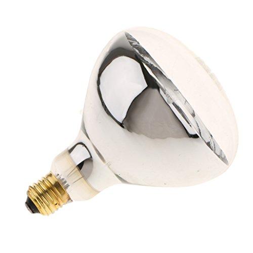 MagiDeal Lampadina Riscaldante Calore Lampade A Raggi Infrarossi Per Radiatori Per Bovini Da Rettile - tipo 1 - 250w