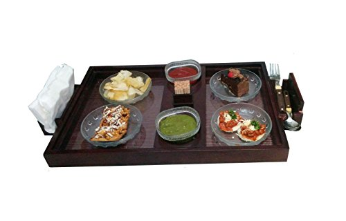 SLK Wood Products - Wooden Serving Tray