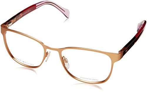 Tommy Hilfiger Unisex-Erwachsene TH 1290 Brillengestelle, Gold, 52