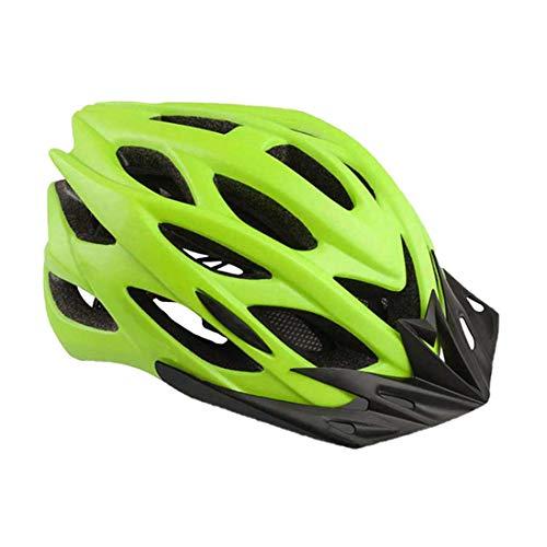 OLEEKA Cycling Bike Helm mit Visier, Fahrradhelm Männer Frauen Jugendliche Klettern Race Skate Helm, Schwarz/Grün/Pink/Blau