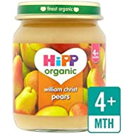 Hipp Organique William Poires 125G Christ - Paquet de 4