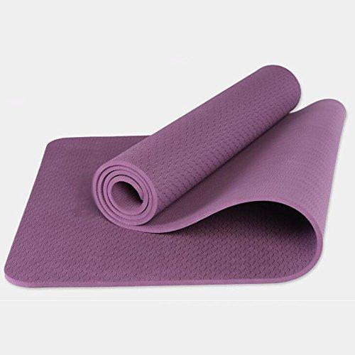 TPE tapis de yoga anti-dérapant Mat Widening Thickening Yoga Dance Mat Fitness Enfants Yoga (8 mm d'épaisseur)