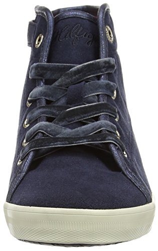 Tommy Hilfiger  Slater 9C,  Mädchen Hohe Sneakers Blue (midnight)