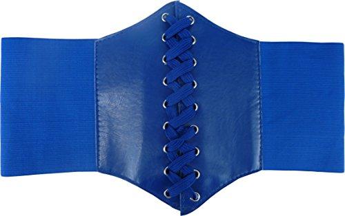 HOEREV® elastischen breiten elastischen Band gebunden waspie Korsett Hüftgurt