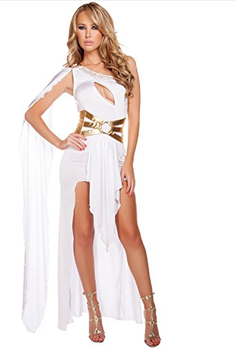 Asiatische Indian Kostüm - qingning Weihnachts Feier Cosplay Sexy Göttin Kleid Egypt Halloween Rome Greece Indian Goddess Arab Princess Dress