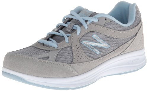 New Balance Women's 847v2 Walking Shoe,Black,US 6.5 2E Argento
