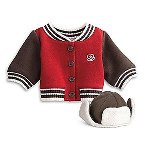 American Girl Bitty Twin Varsity Jacket & Cap for Dolls by Mattel