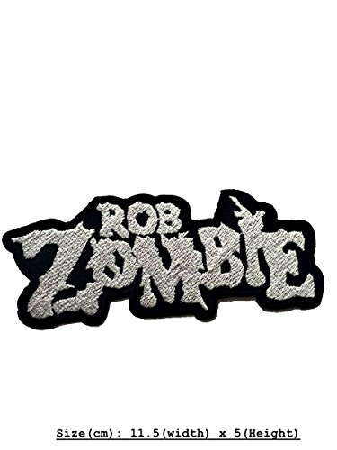 Rob Zombie DIY Metal Punk Rock Music Band Indy Retro Embroidered Iron Sew On Patch Applique (Band Zombie)