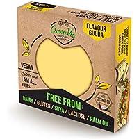 GreenVie Queso Gouda Bloque vegano 250g (Pack de 4)