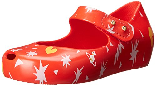 Mini Melissa (+ Vivienne Westwood) VW Mini Ultragirl Shoe 14 Print Red UK 4 (EUR 19/20)
