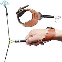 Funtress arco compuesto adyuvante de separación flecha de la caza del tiro al arco de accesorios correa ajustable práctica de tiro