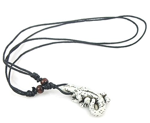 saysure-tibetan-gecko-yak-bone-necklace-man-made-carving-pendant