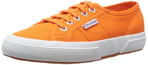 Superga 2750 Cotu Classic, Sneakers Basses mixte adulte Orange (Hot Orange)