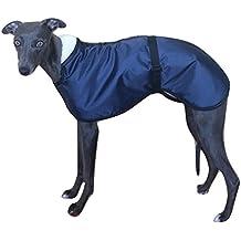 Capa impermeable para perro con forro de lana 51a7a29af66ad