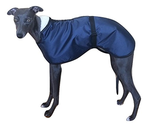 Capa impermeable para perro con forro de lana