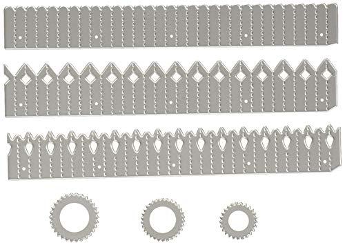 Sizzix 662691 Thinlits Stanzschablone, Stahl, Mehrfarbig, 27.9 x 13.8 x 0.1 cm