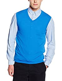 United Colors of Benetton Kitted waistcoat - Veste De Tailleur - Sans Manche - Homme