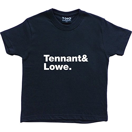 T34 -  T-shirt - ragazzo Navy Blue Kids' T-Shirt
