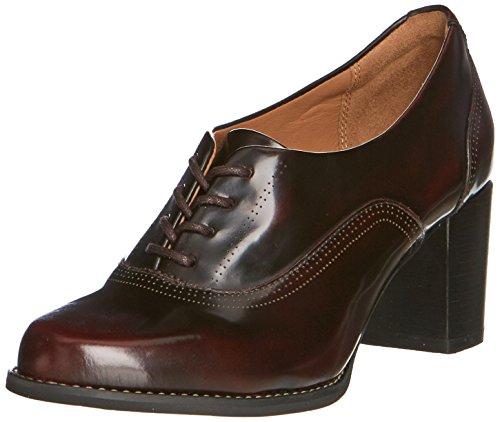clarks-tarah-victoria-womens-shoes-red-burgundy-leather-7-uk-41-eu