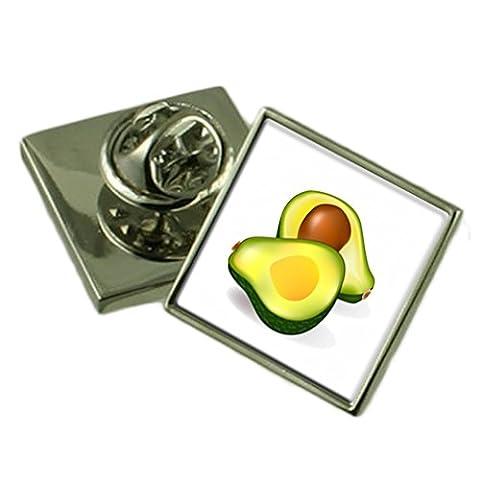 Avocado Sterling Silber Ehrennadel Geschenkbox