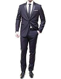 Leader Mode - Costume Zch14 41 Col Chale Navy Blue