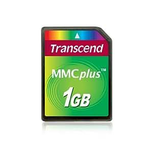 Transcend Multimedia Card Plus (MMC Plus) Memory Card 1 GB