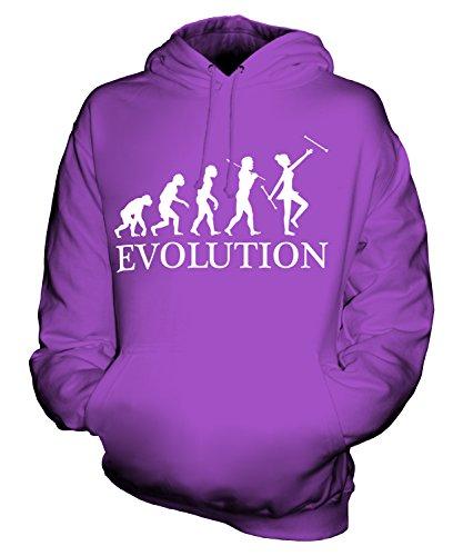 Candymix Baton Twirling Evolution des Menschen Unisex Herren Damen Kapuzenpullover, Größe Small, Farbe ()