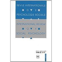 Revue Internationale de Psychologie Sociale, N° 23-1, 2010 :