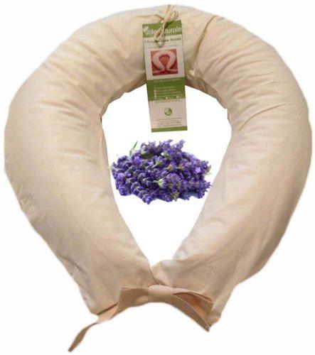 Cuscino Allattamento Pula Di Farro.Cuscino Allattamento Pula Di Farro Bio Lavanda Bio Federa Panna